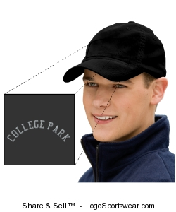 Six Panel Athletic Mesh Flexfit Cap Design Zoom